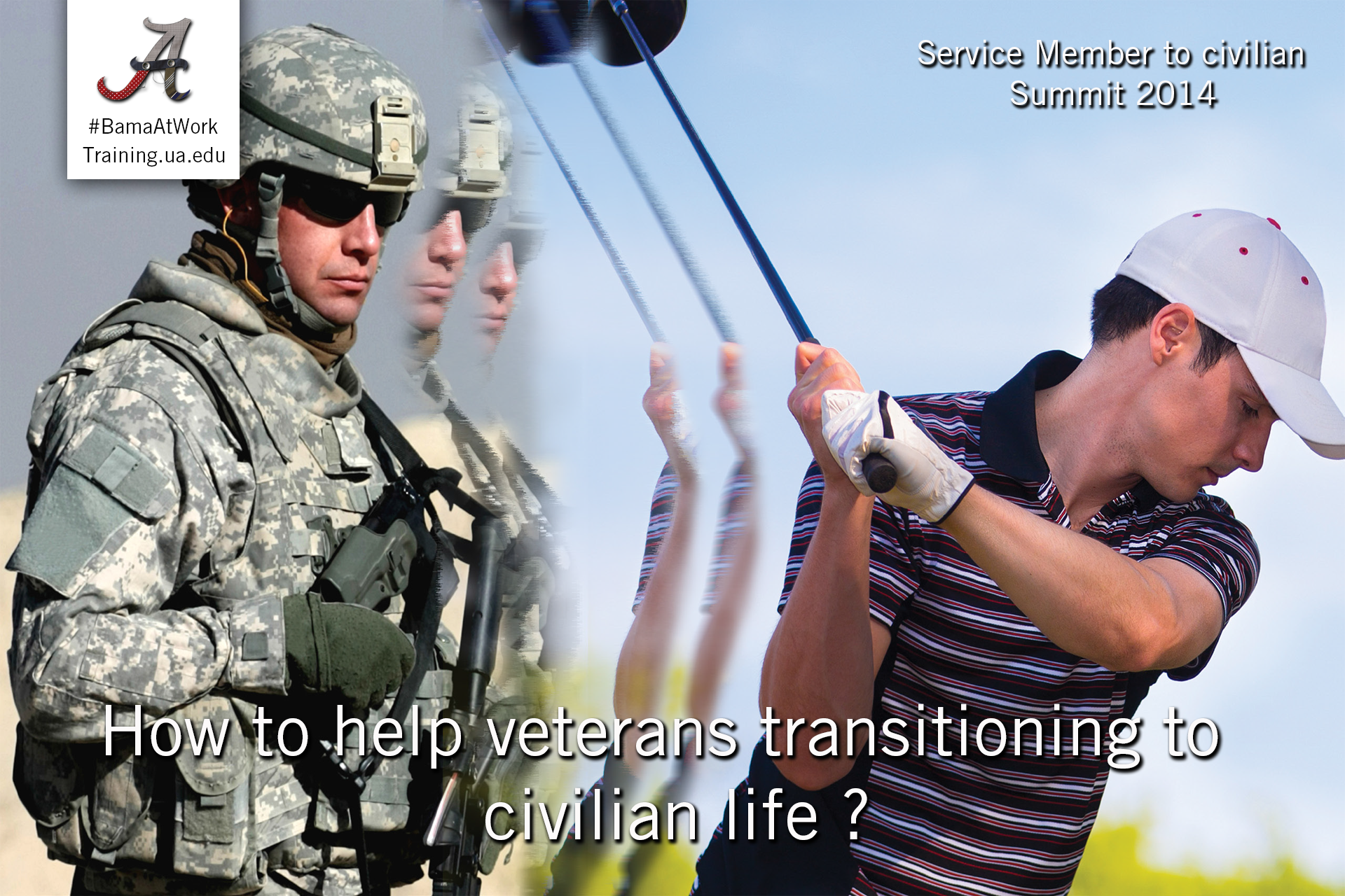transition service member to civilian conference